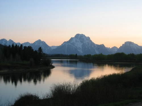 Another shot of the Tetons...