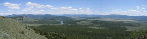 Snake River looking at Yellowstone