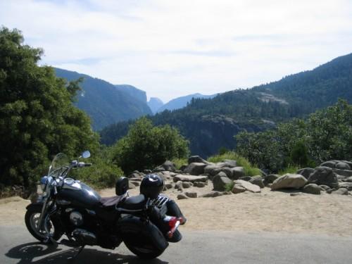 El Cap, Halfdome, & The Bike
