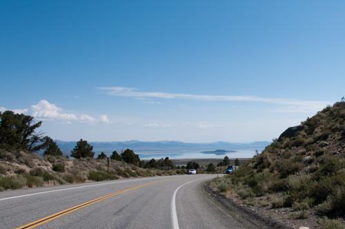 First sighting of Mono Lake